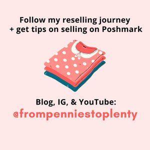 Follow my blog + closet!